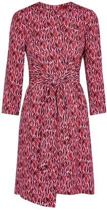 HUGO BOSS Kiranas Prink Printed Dress