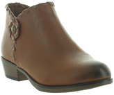 Pierre Dumas Tan Zury Ankle Boot - Kids