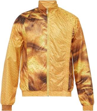 Cottweiler Monogram Technical Track Jacket - Mens - Gold
