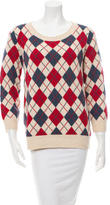 A.P.C. Patterned Wool Sweater