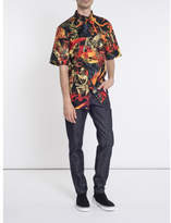 Givenchy Short Sleeve Printed Shirt - Multicolor - Size CL41