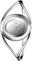 Calvin Klein K1A23708 Women's -Tone Dial Bangle Bracelet Stainless Steel Watch