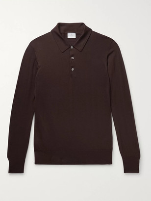 Kingsman Cashmere Polo Shirt - Men - Brown