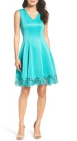Chetta B Women's Fit & Flare Dress