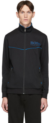 BOSS Black Tracksuit Zip-Up Sweater