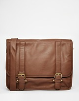 French Connection Messenger Bag - Brown
