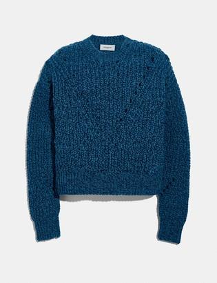 Coach Open Knit Sweater
