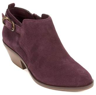 White Mountain Footwear Sadie Suede Ankle Bootie