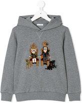 Dolce & Gabbana Family appliquéd hoodie