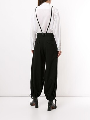 Yohji Yamamoto Carrot Trousers