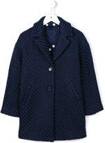 MonnaLisa classic coat - kids - Acrylic/Polyester/Wool - 8 yrs