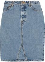 Bassike Denim Skirt - Light denim