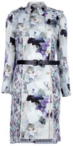 floral trench dress