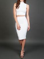 Donna Mizani Midi Skirt