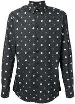 Dolce & Gabbana bee print shirt - men - Cotton - 43