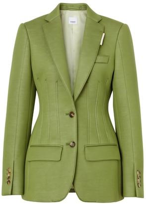 Burberry Neoprene Tailored Blazer