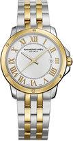 Raymond Weil Watch, Men's Swiss Tango Two-Tone Stainless Steel Bracelet 39mm 5591-STP-00308