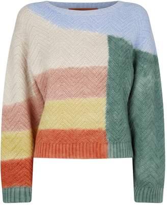 Missoni Knitted Colourblock Sweater