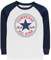 Converse Long Sleeve Raglan T Shirt