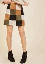 Not a Square in the World Mini Skirt in 8