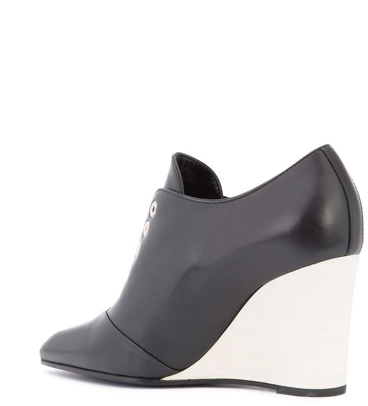 Lanvin wedge laceless boots