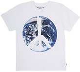 Munster Earth-Motif Cotton T-Shirt