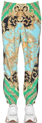 Versace Heritage Print Nylon Pants