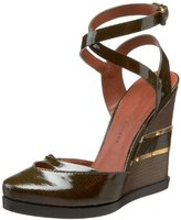 Marc by Marc Jacobs Women's Ankle Strap Wedge Pump