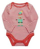 F&F Striped Elf Christmas Bodysuit, Newborn Unisex