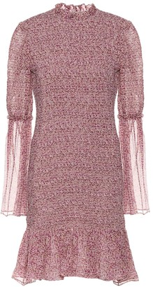 Stella McCartney Floral silk dress