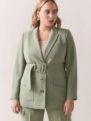 Belted Utility Jacket - Addition Elle