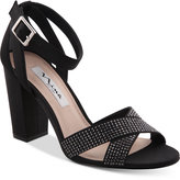 Nina Shelly Block Heel Evening Sandals