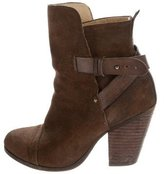 Rag & Bone Kinsey Suede Ankle Boots