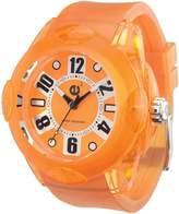 Tendence 2013013 Womens Rainbow Orange Dial Orange Strap Watch