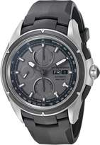 Emporio Armani Swiss Made Men's ARS9202 Analog Display Swiss Automatic Black Watch