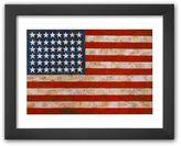 """Art.com Flag, 1954-55"""" Framed Art Print by Jasper Johns"""