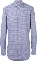 Kiton checked shirt - men - Cotton - 42