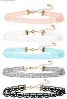BP 5-Pack Lace Chokers