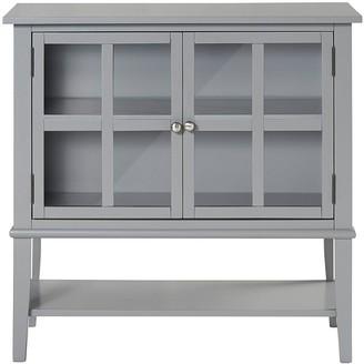 Franklin 2 Door Storage Cabinet- Grey