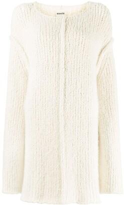 KHAITE Jema oversized-fit wool jumper