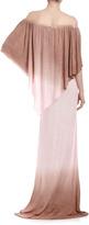 Young Fabulous & Broke Young Fabulous and Broke Fiona Double-Ombre Maxi Dress, Coffee/Blush