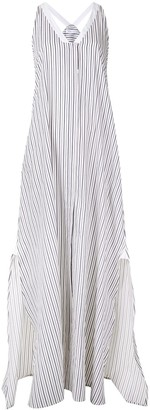 Rosetta Getty Striped Loose Dress