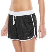 Nike Women's Drill Dri-FIT Mesh Colorblock Workout Shorts