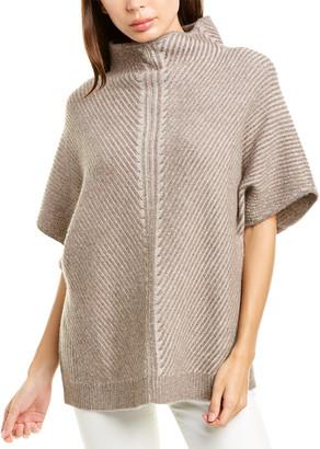 Raffi Bias Rib Vanise Wool & Cashmere-Blend Sweater