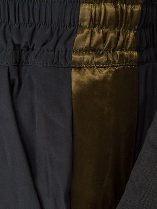 Drawstring-waist Sweatpants Black