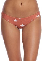 Stone Fox Swim Retro Star Malibu Bikini Bottom 8163208