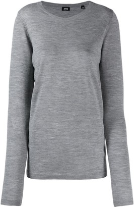 Aspesi Scoop-Neck Fine Knit Jumper