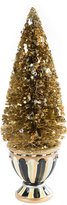 Mackenzie Childs MacKenzie-Childs - Precious Metals Bottle Brush Decorative Tree - Small
