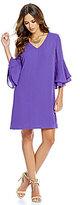 Gianni Bini Fiona Bell Sleeve Dress