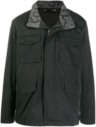 Paul Smith Concealed Hood Jacket